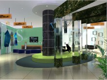 国轩高科技展厅