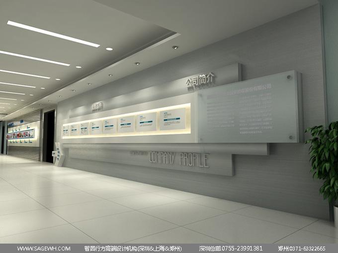 企业形象墙设计制作方法