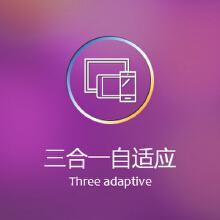 【三合一自适应网站】适用于手机 Pad 电脑 三合一自适应网站,已经成为时代的潮流