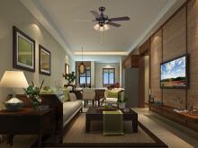 威客服务:[63128] 东南亚风格客厅