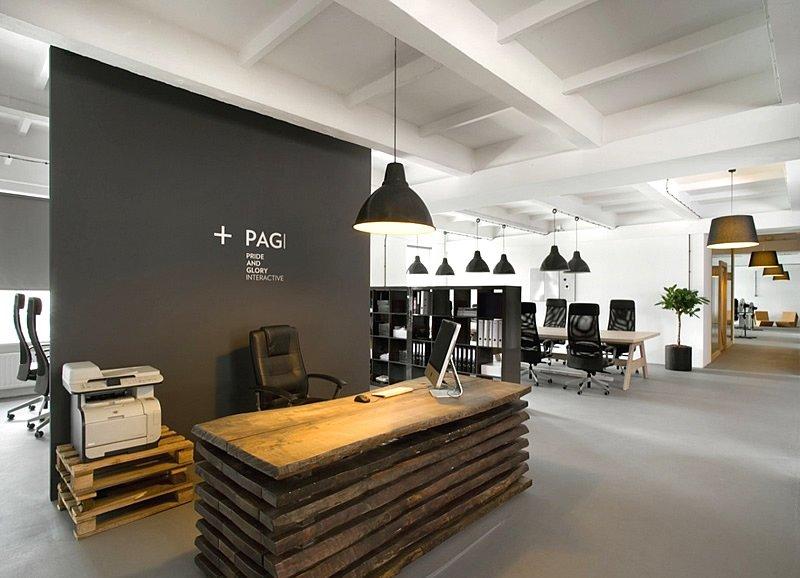 办公室形象墙背板和立体字材料选择
