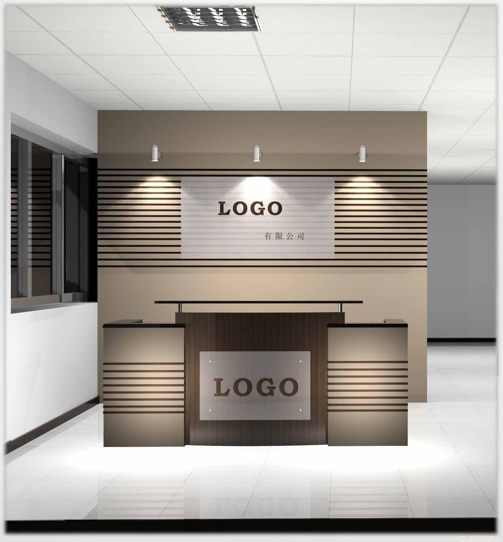 办公室形象墙设计两点要素