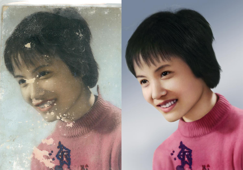 旧照片翻新和旧照片修复的差别