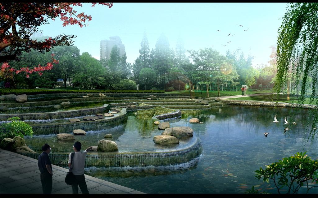 软质景观的艺术园林设计方法