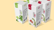 珍洛曼卸妆水系列包装设计