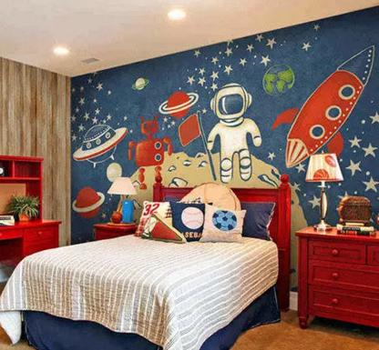 家居设计要如何选择壁纸