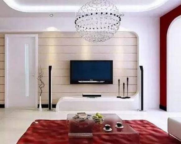 电视墙设计效果图欣赏