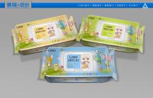婴童湿巾系列包装设计