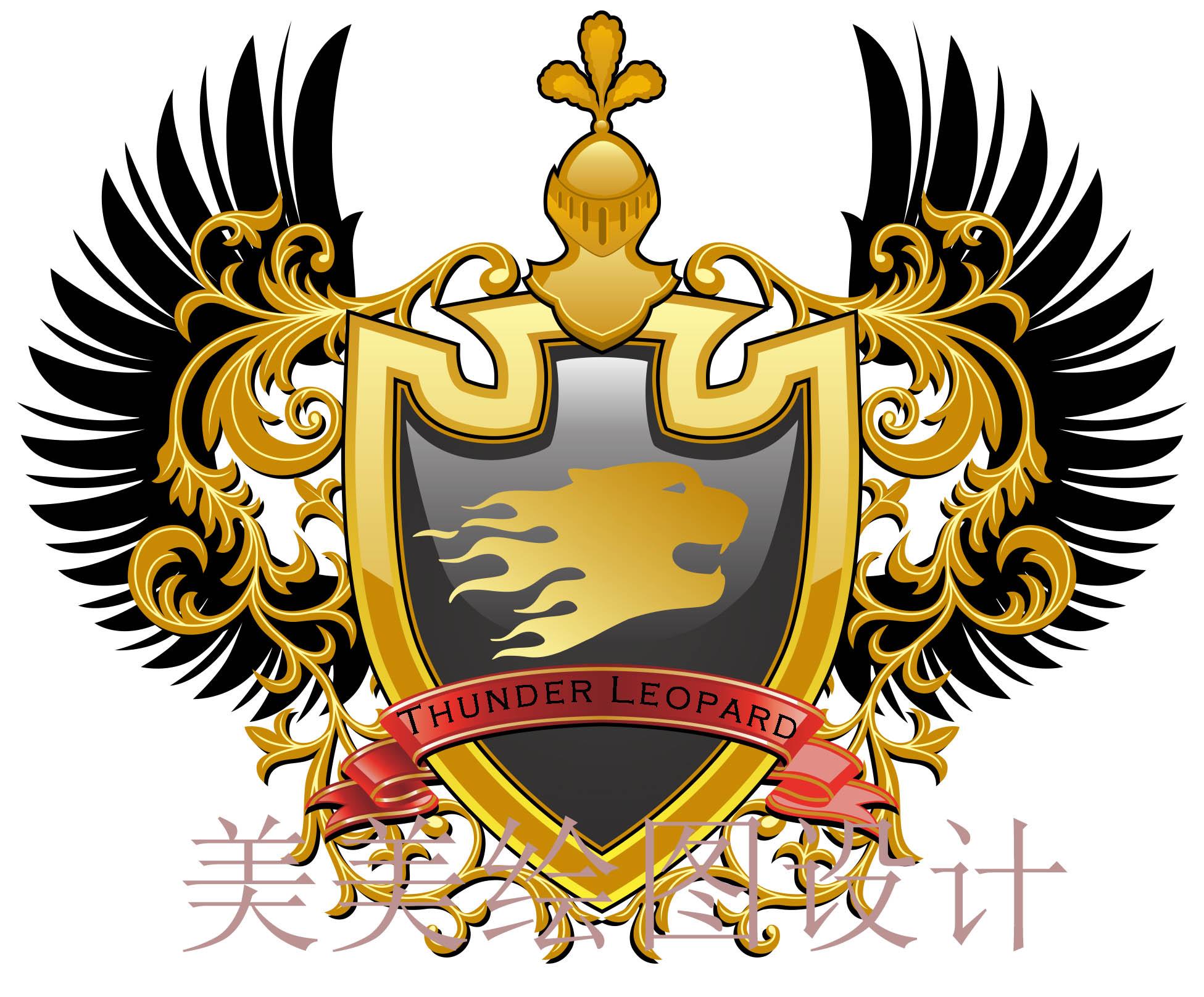 游戏俱乐部徽章设计