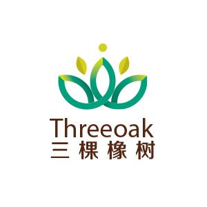 三棵橡树logo设计2