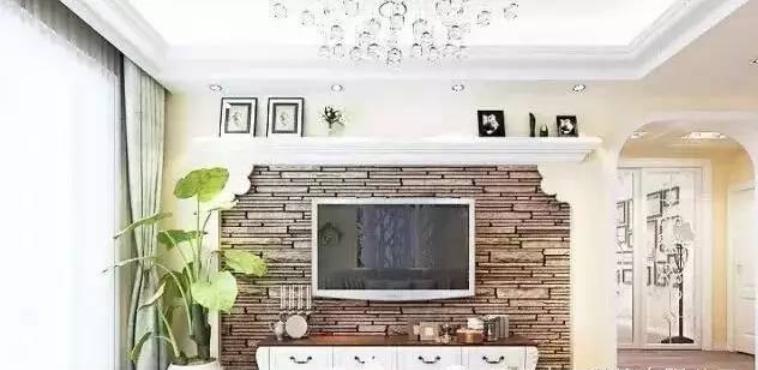 最新电视墙背景效果图欣赏