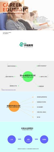 开锐教育集团品牌VI系统-(乐映水品牌顾问)
