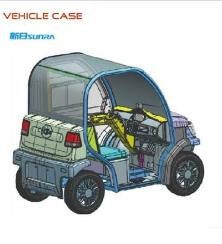 四轮电动车代步车
