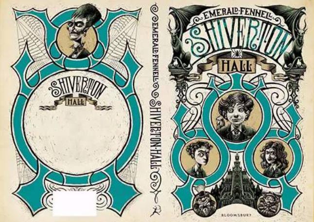 暗黑系童话小说封面设计欣赏