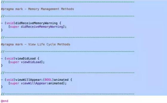 IOS应用开发  IOS开发中的Xcode小功能