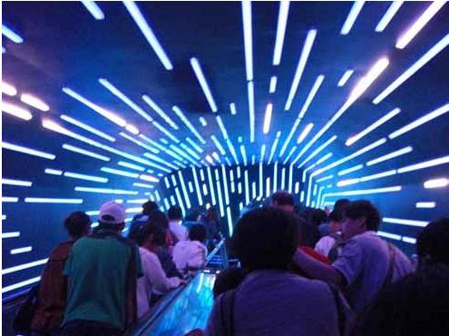 多媒体互动对室内游乐园的影响