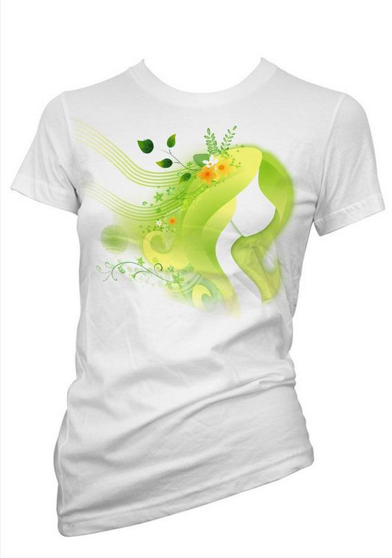 个性广告T恤设计欣赏