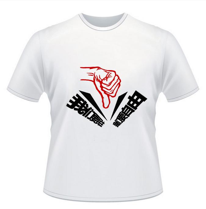 创意环保手绘t恤