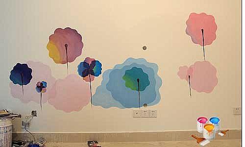 创意手绘墙设计中的小技巧