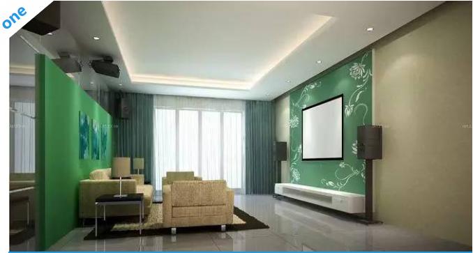 绝美中国风手绘电视墙欣赏
