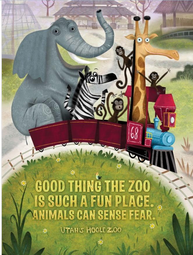 童趣满满的动画宣传海报欣赏