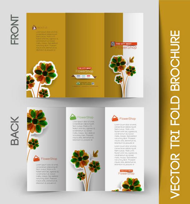 三折页宣传册尺寸设计印刷时要注意什么?图片