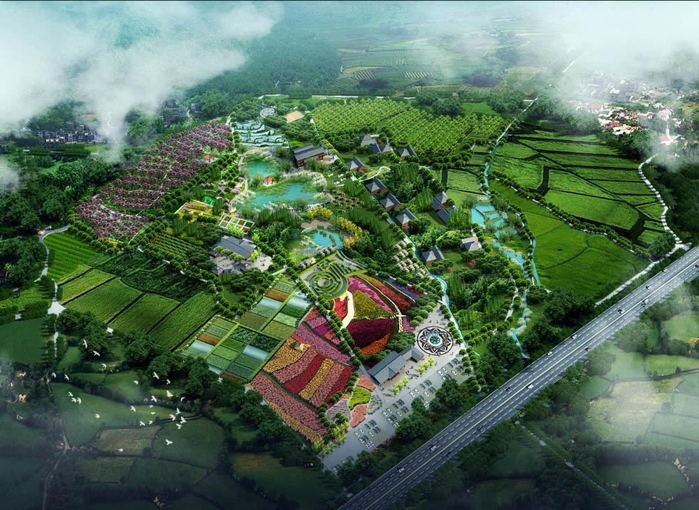 3d效果图制作lumion室外鸟瞰su草图大师建筑园林景观设计代画做