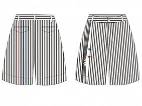 MUEO时装男女短裤设计