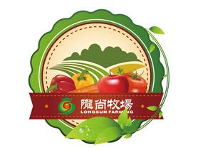 制作果蔬禽蛋类统一用的不干胶产品标签