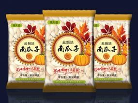 盐焗南瓜子手抓包包装设计