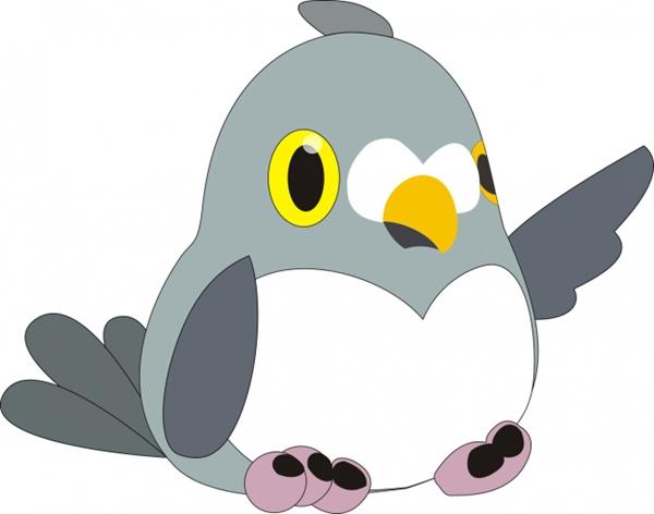 可爱的傻傻的鸽子头像