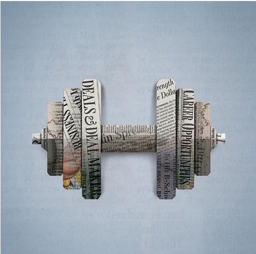 广告设计欣赏,华尔街日报的创意广告设计