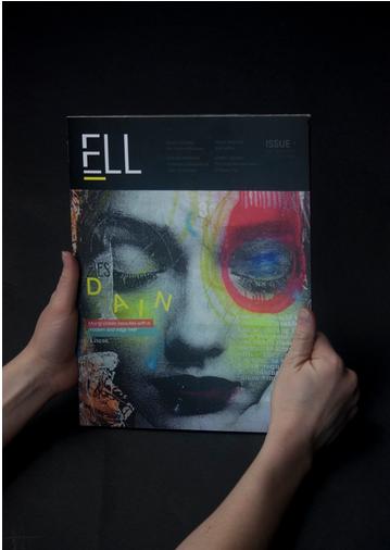 极具视觉冲突的杂志版式设计欣赏