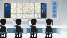 智能交通集成系统Flash动画