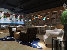 欧美品牌格兰德咖啡空间设计