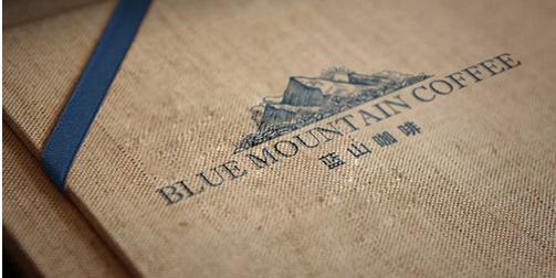 Blue Mountain Coffee VI设计欣赏,coffeeVI设计方法
