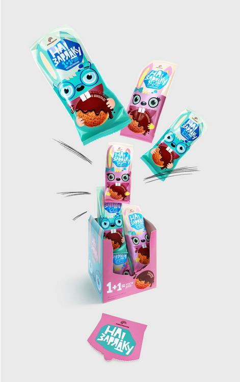 零食饼干趣味包装设计欣赏,零食饼干包装设计方法