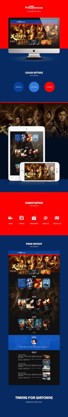 影视网站设计与开发