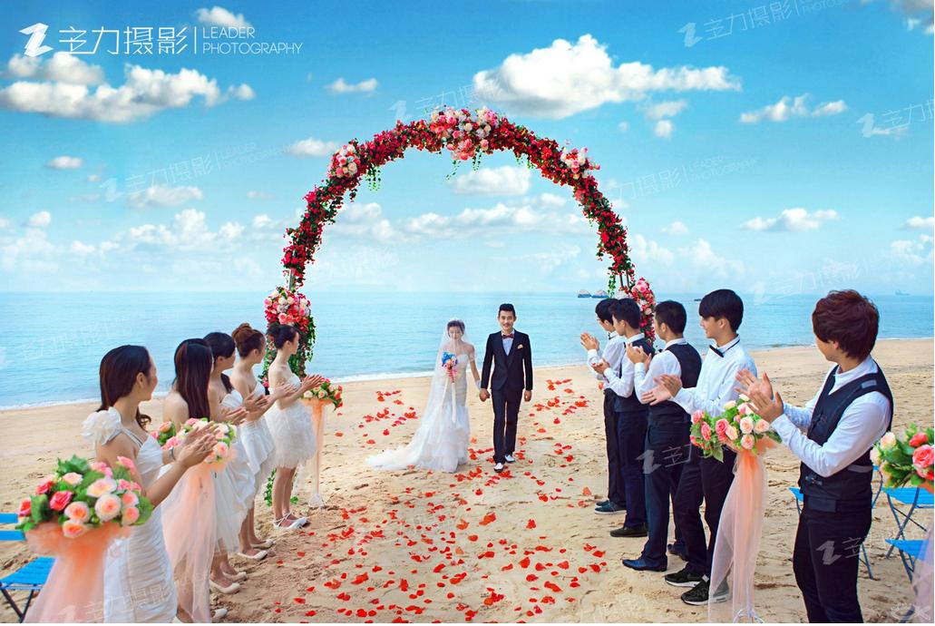 沙滩主题婚礼策划,夏日沙滩婚礼策划方案