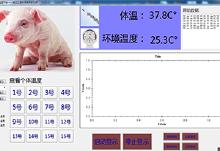畜禽疾病超早期预防监控系统的开发