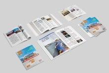 《阳光联代》内刊排版设计