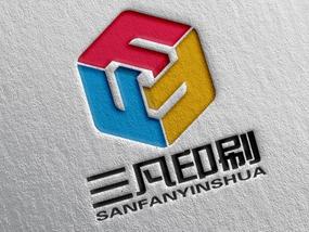 三凡印刷logo设计