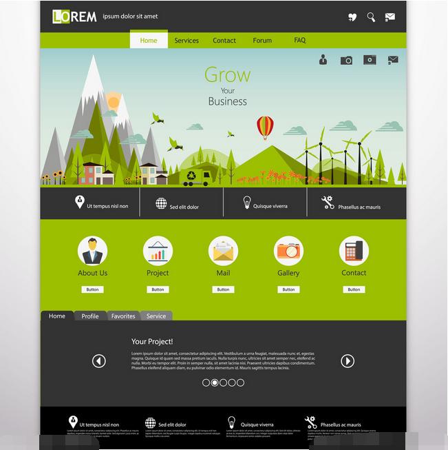 美观网页设计技巧,如何让字体和图片搭配得更加好看
