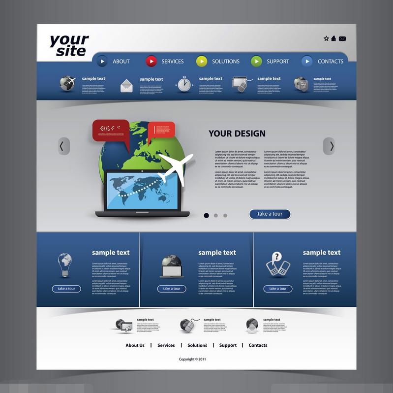 网页设计的极简风格设计方法,如何打造网页的极简风格