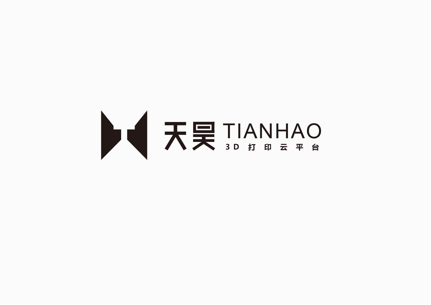 天昊3d打印云平台logo设计