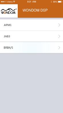 智能控制APP(WIFI)