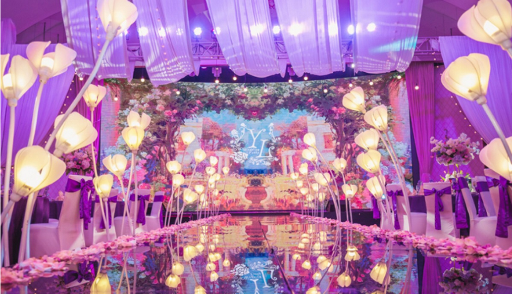 浪漫圣洁的婚礼现场布置方法,婚礼布置方法