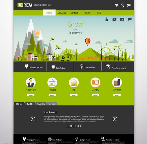 网站网页设计方法,如何设计出用户需要的网页