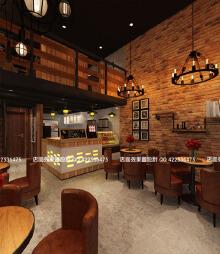 咖啡店效果图  咖啡店设计