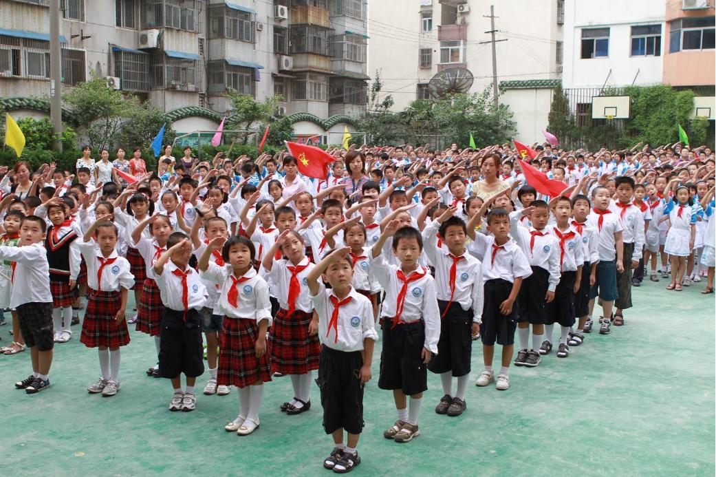 小学开学典礼活动策划方案,庄严的小学开学典礼